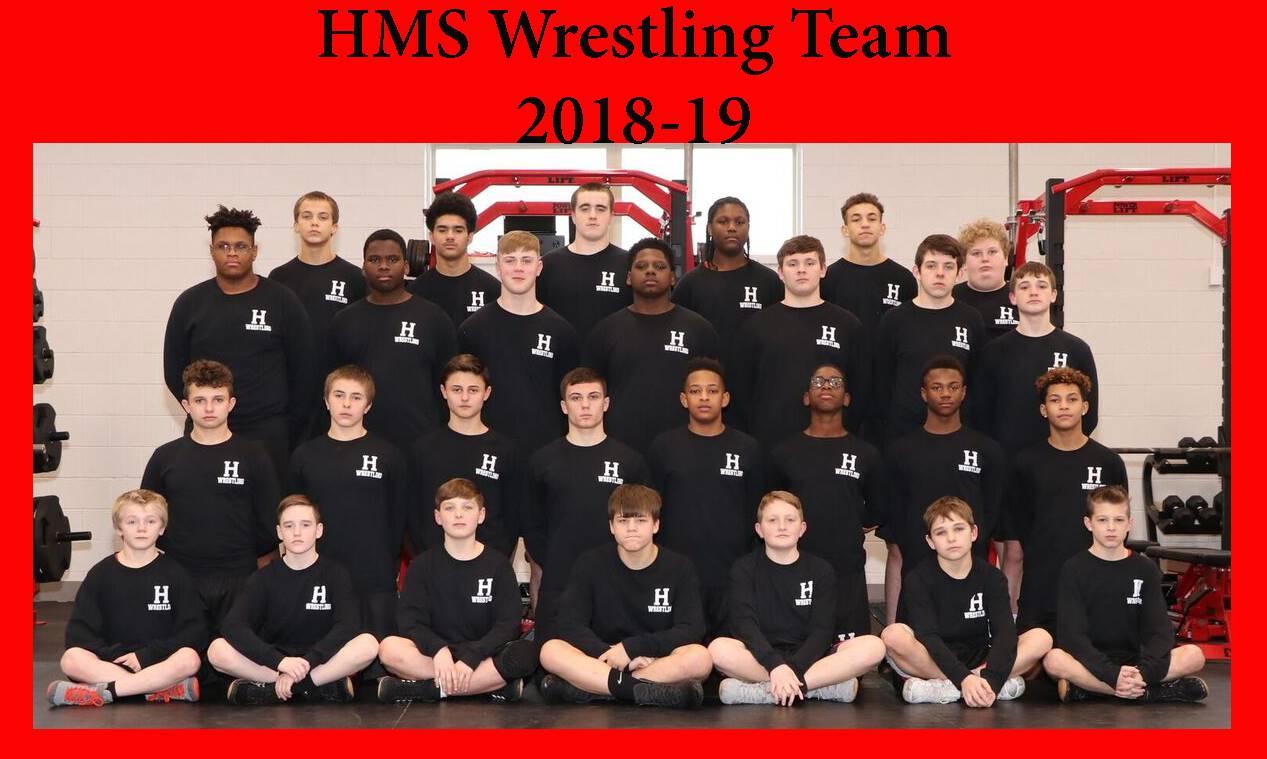 HMS Wrestling Team