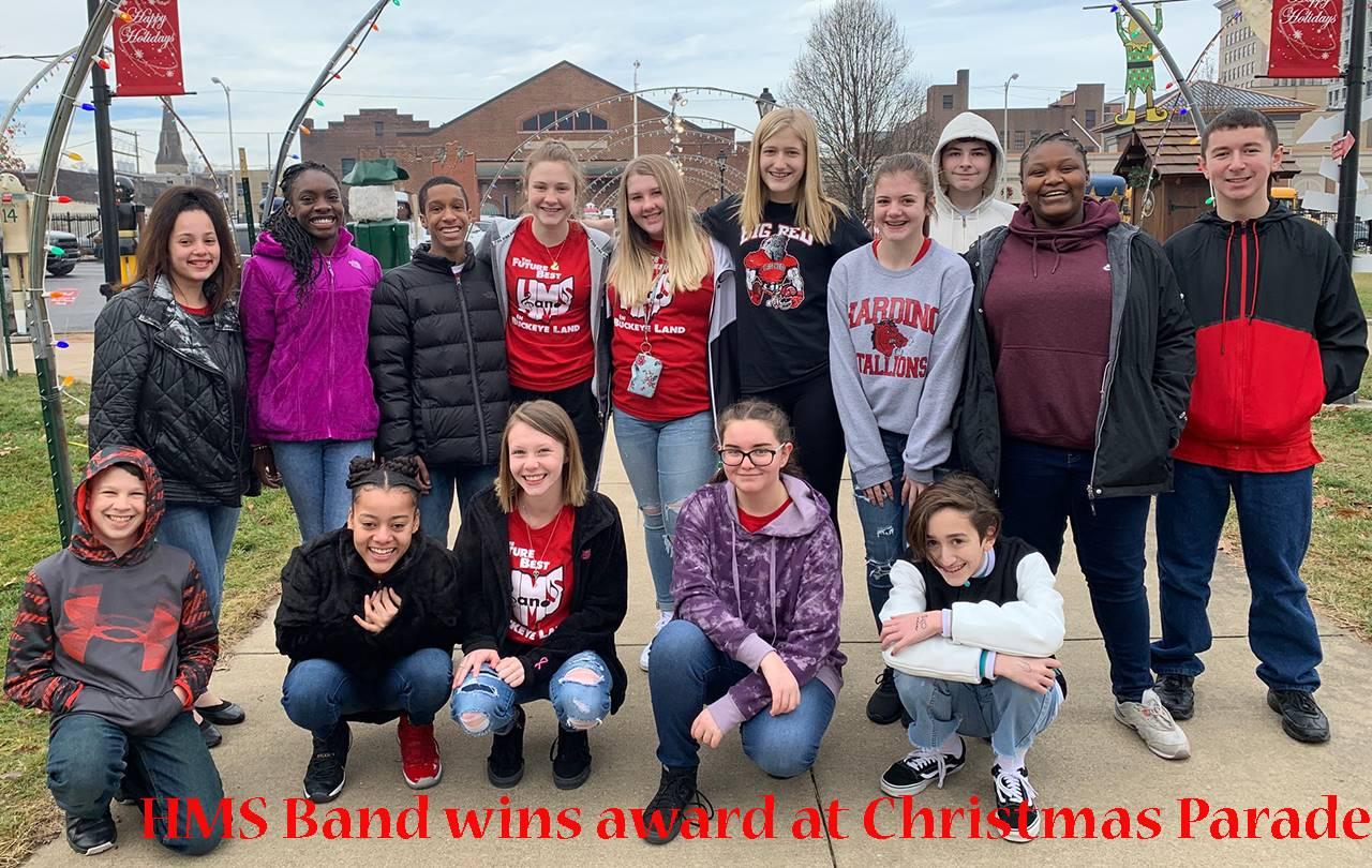 HMS Band award winners