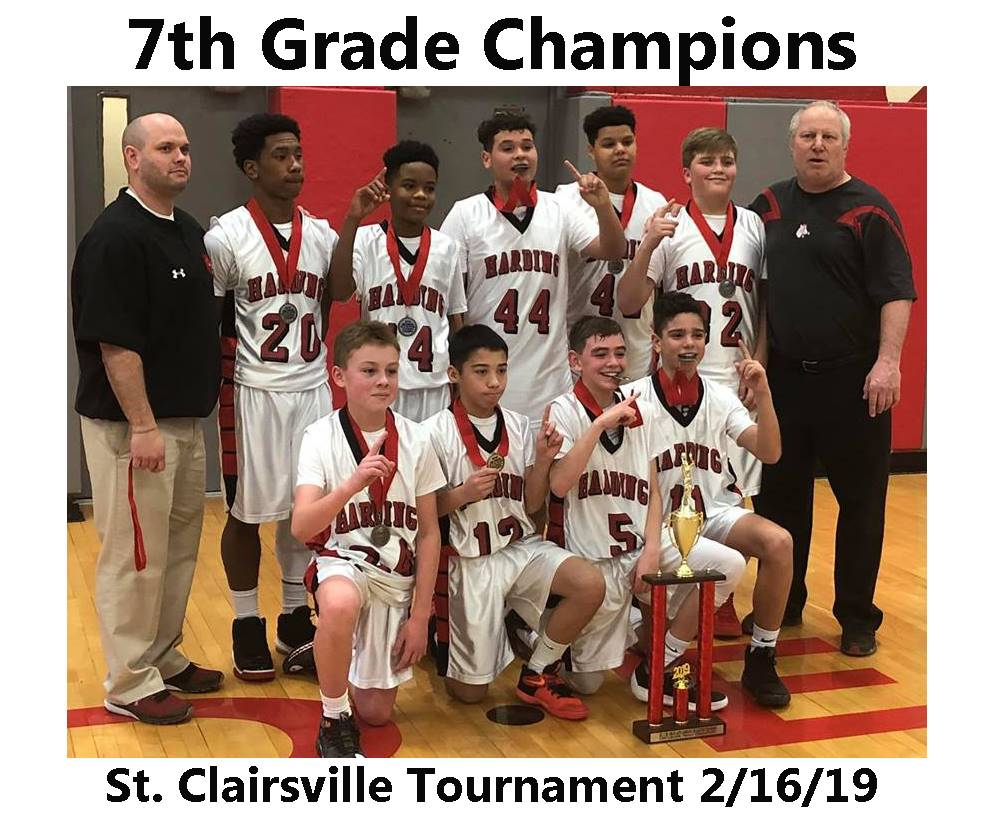 7th Grade Boys Basketball Champs