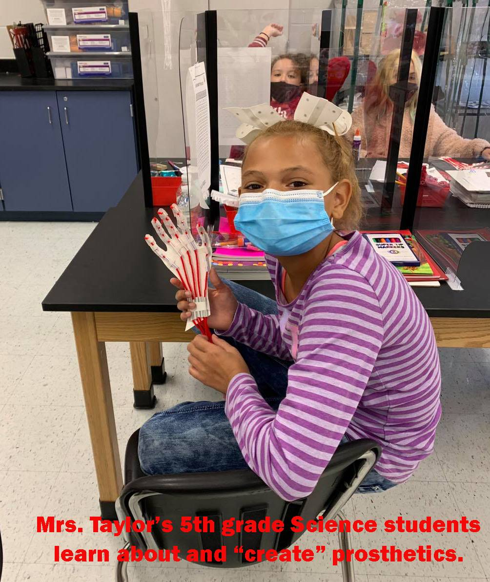 Mrs. Taylor's 5th grade Science: Prosthetics