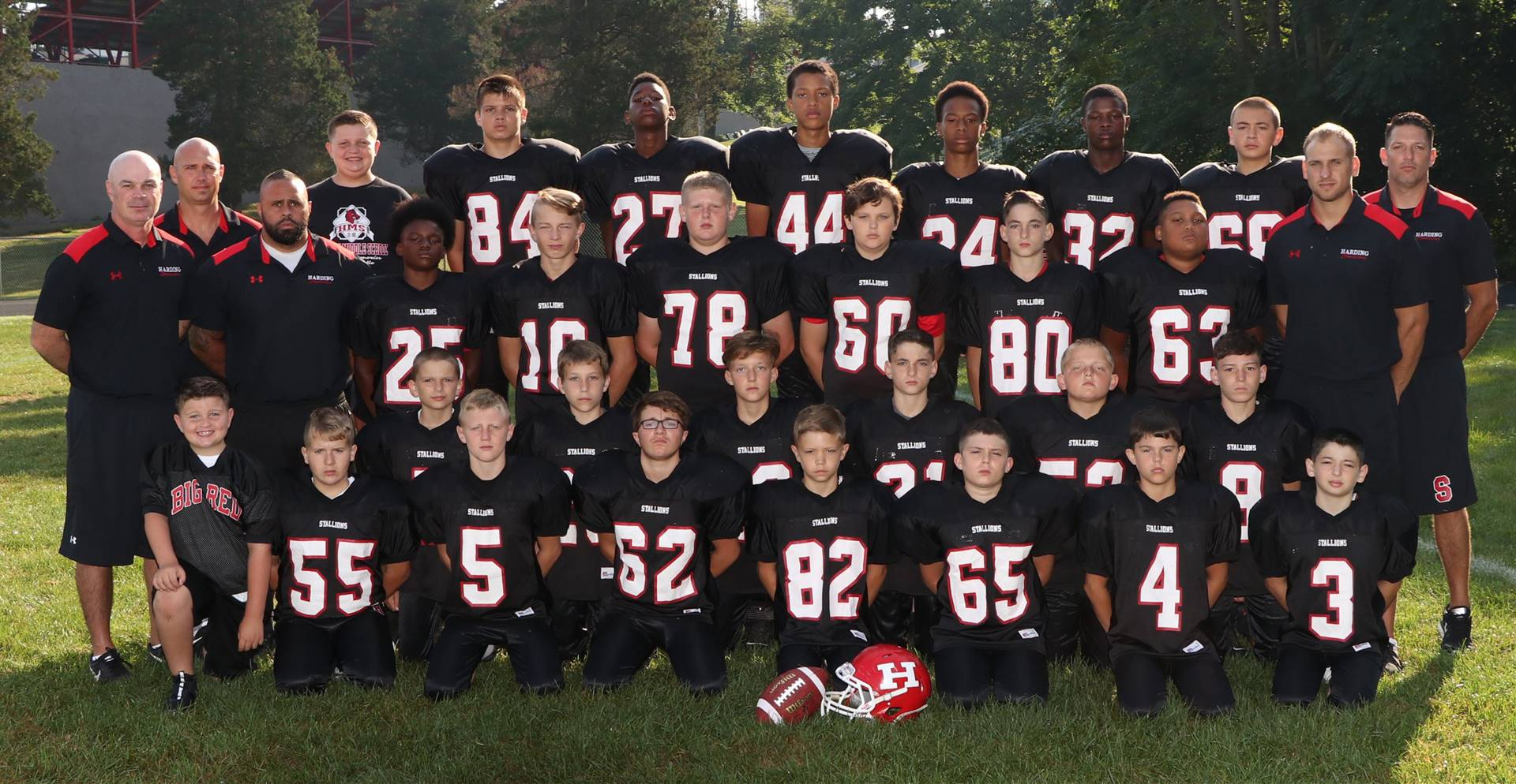 HMS 7th Grade Football Team