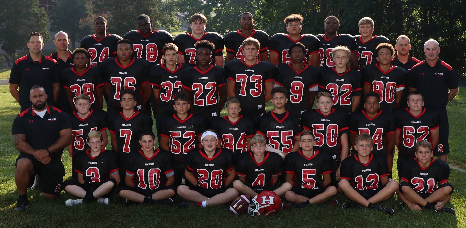 HMS 8th Grade Football Team