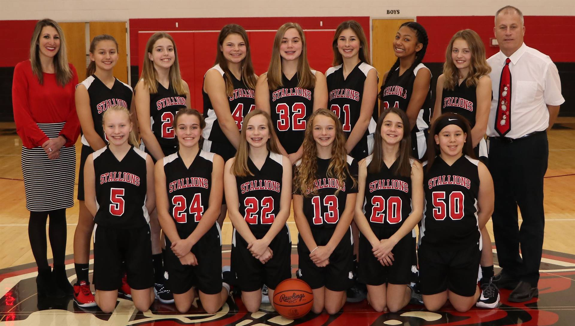 HMS 8th Grade Basketball Team