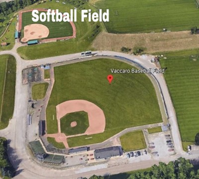 Franciscan University Campus Map.Softball Field Franciscan University