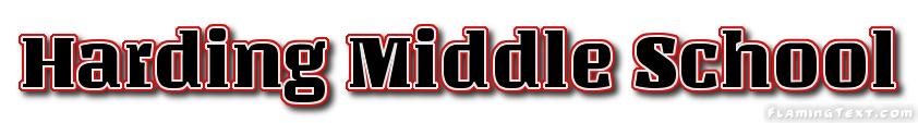Harding Middle School Logo